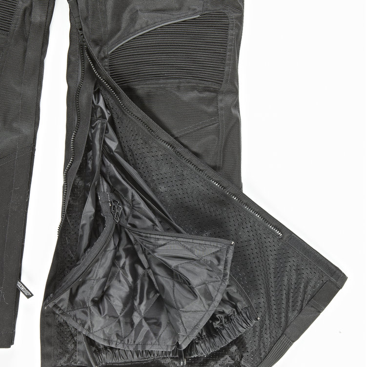 INSEAM LEG ZIPPERS FOR EASY ACCESS