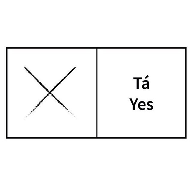 X , make sure you mark beside the YES/Tá box via @eightstories