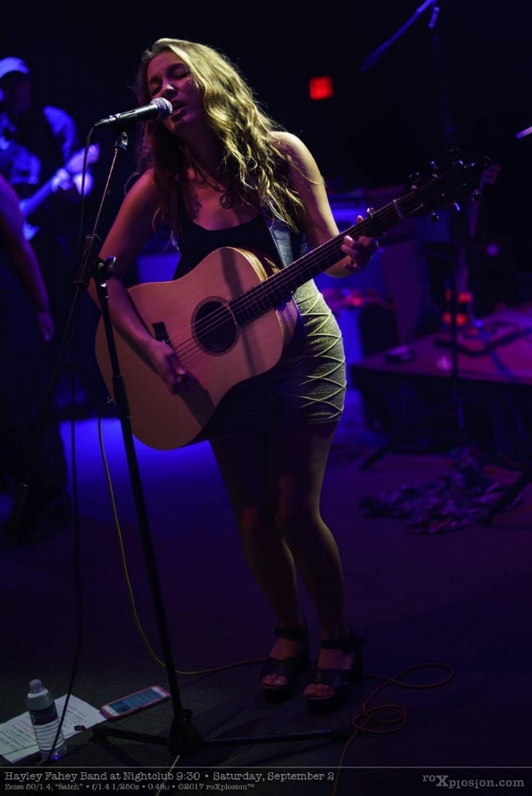 Hayley Fahey guitar