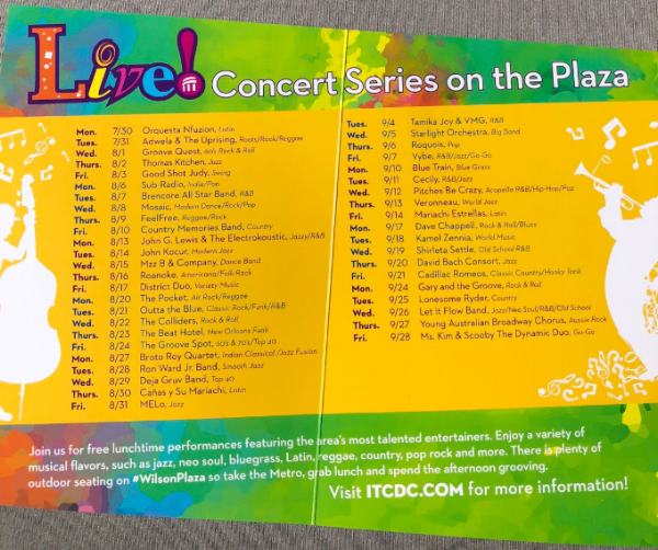 ITCDC Free Show Schedule