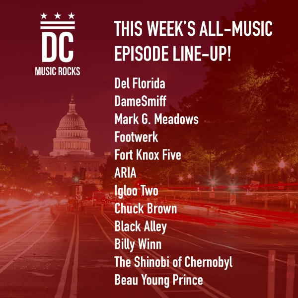 DC Music Rocks All Music Episode Oct 23 2018