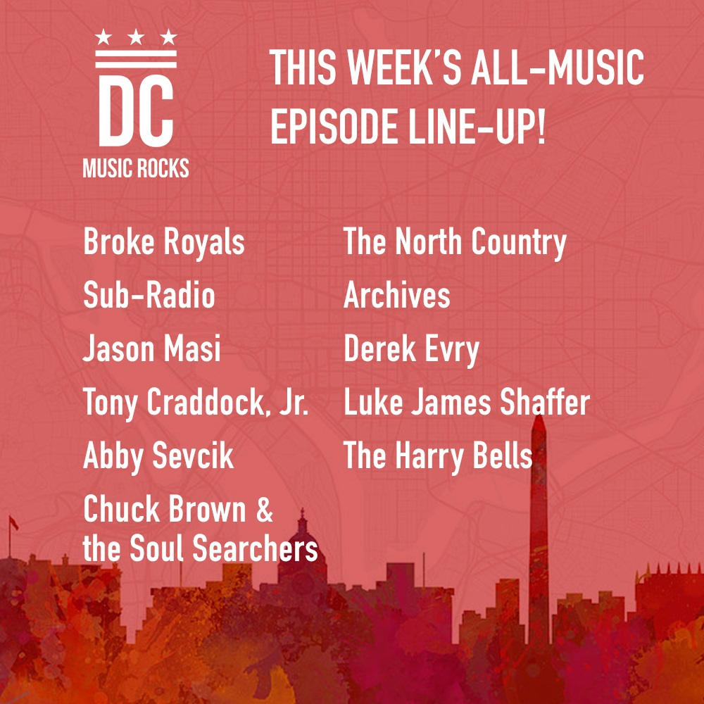 DC Music Rocks All Music Episode Dec 25 2018