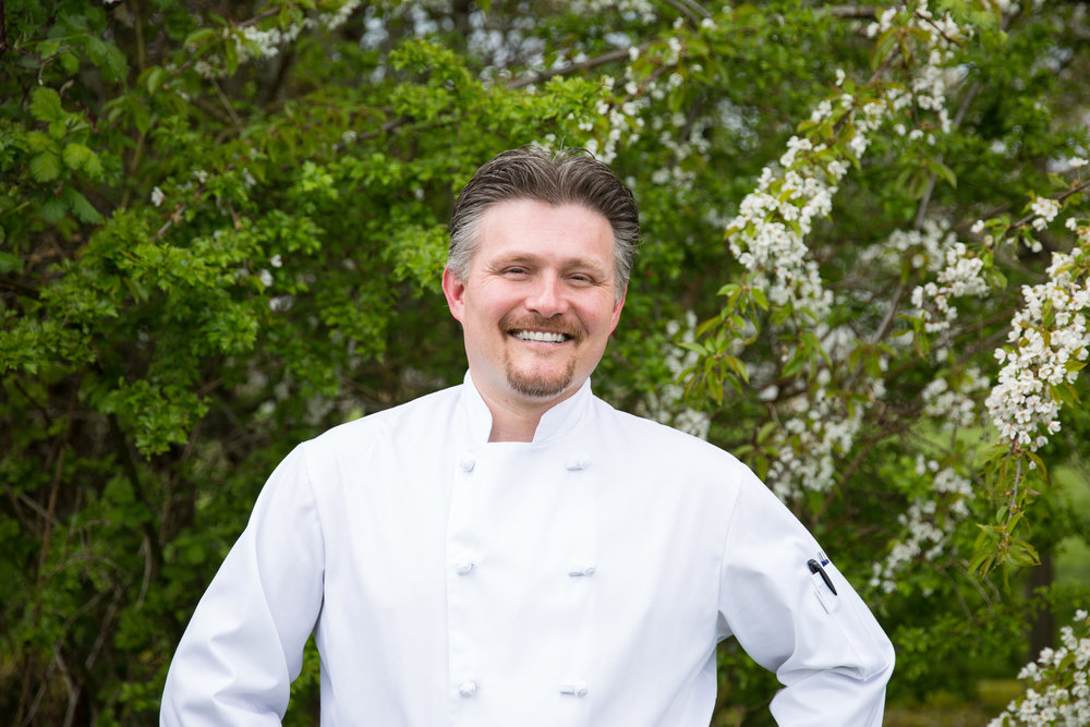 "- ""I find inspiration in our team's excitement, stemming from the wide variety of local food that enters our kitchen. Motivation to create fresh quality cuisine comes naturally when the local farm delivers mouth-watering strawberries or fresh figs.""— JP Green, Executive Chef"