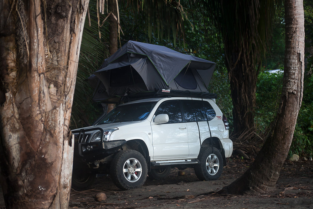 """Our rig came with all camping equipment including the tent that folds and unfolds from the roof rack.  Fabio and Luis helped us navigate our plans and what we were looking for. Without this powerhouse of a vehicle it would have been difficult to navigate the roads and places we went. """