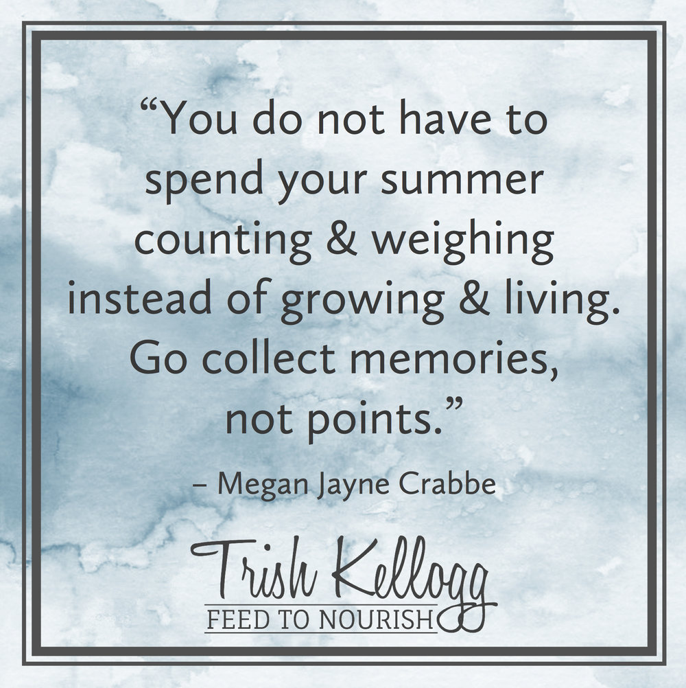 Wake Up Weight Watchers — Trish Kellogg | Feed to Nourish