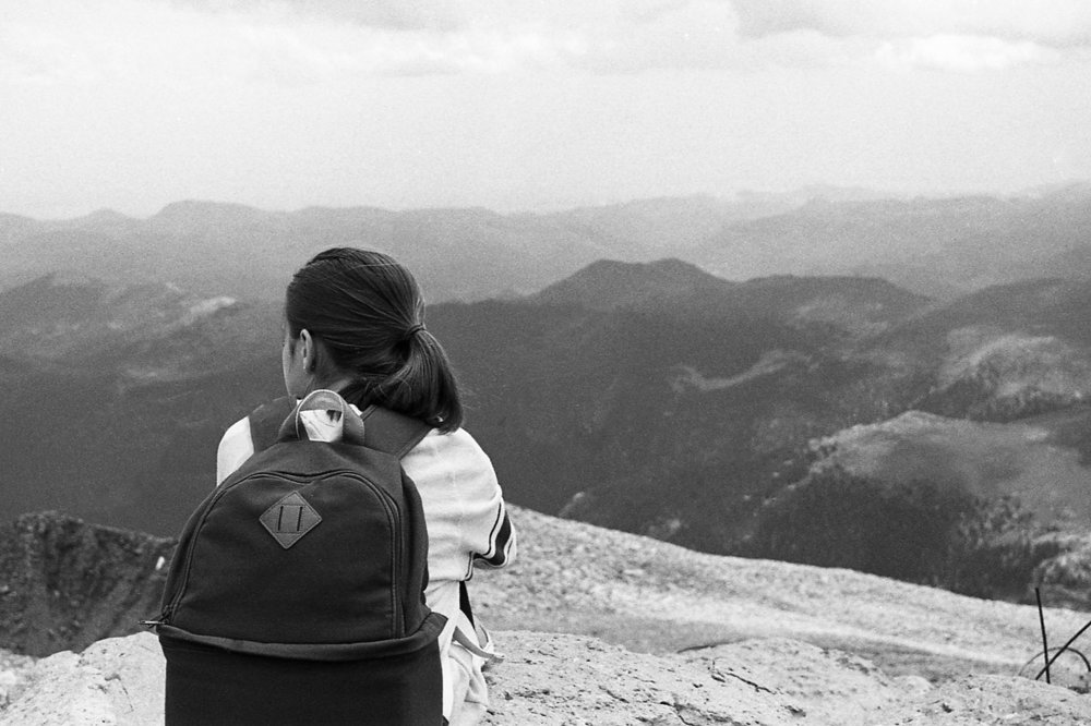 Taking in the View  - Pikes Peak, CO