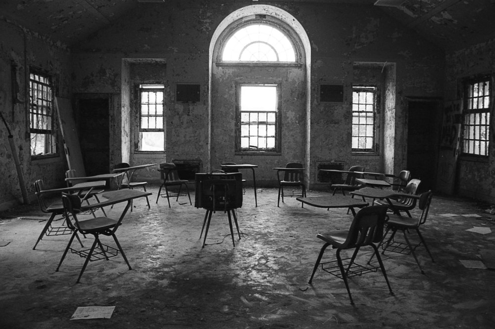 Take a Seat -  abandones Forest Haven Mental Institution, MD