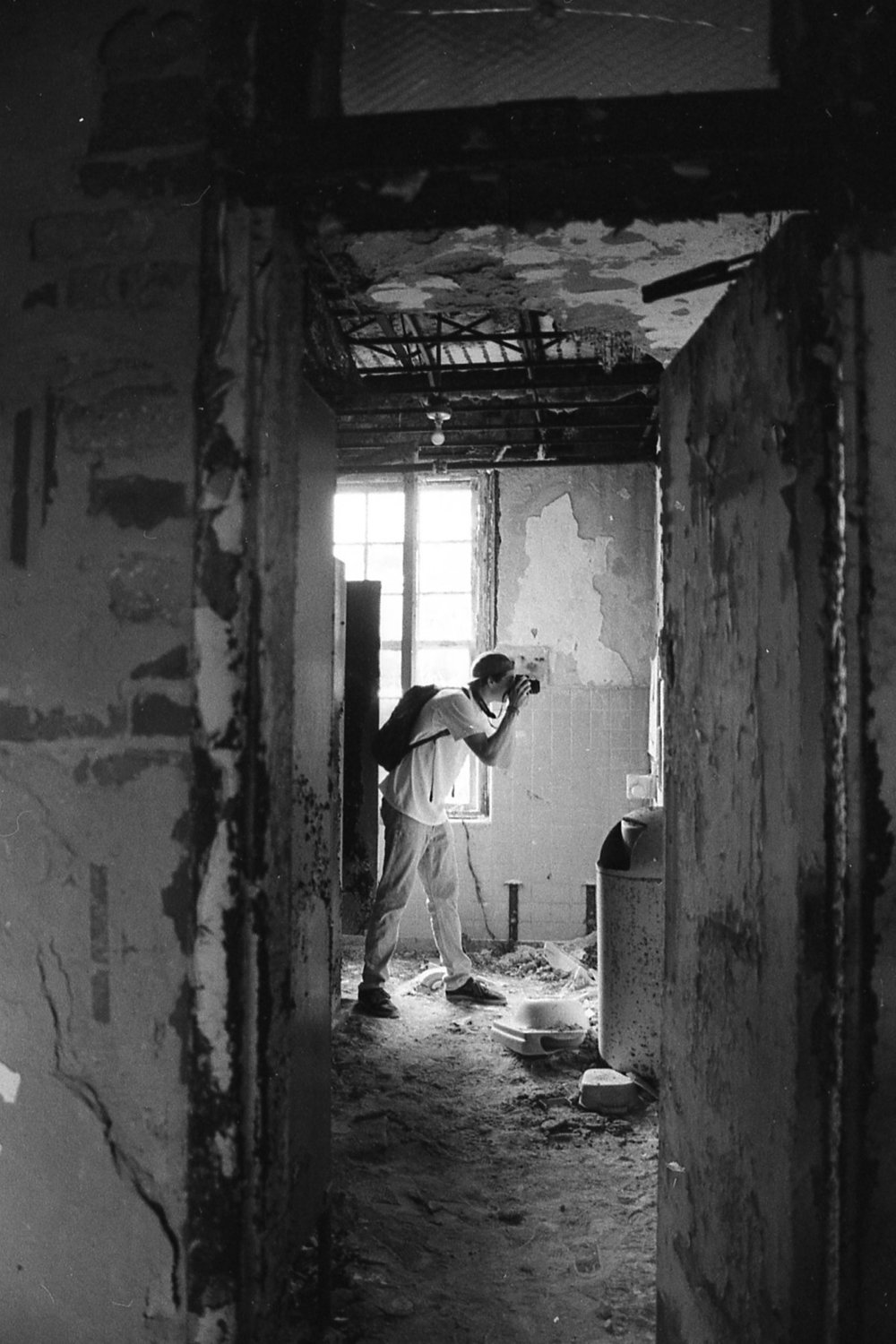 The Photographer -  abandoned Forest Haven Mental Institution, MD