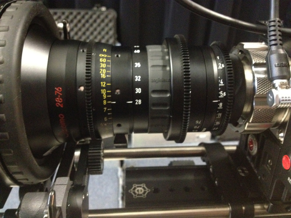 I am excited about giving this lens a whirl on an upcoming job- a 28-76mm   Angenieux Optimo. Wide open is t2.6 and it's puny as far as zoom lenses go.  Covers 5k nicely and smooth.