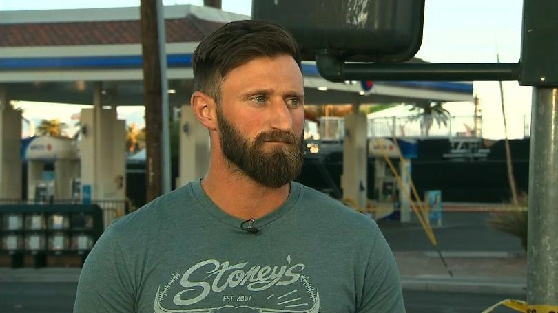 03. - Iraq war veteran Taylor Winston who stole a truck to save lives during the mass shooting in Las Vegas.