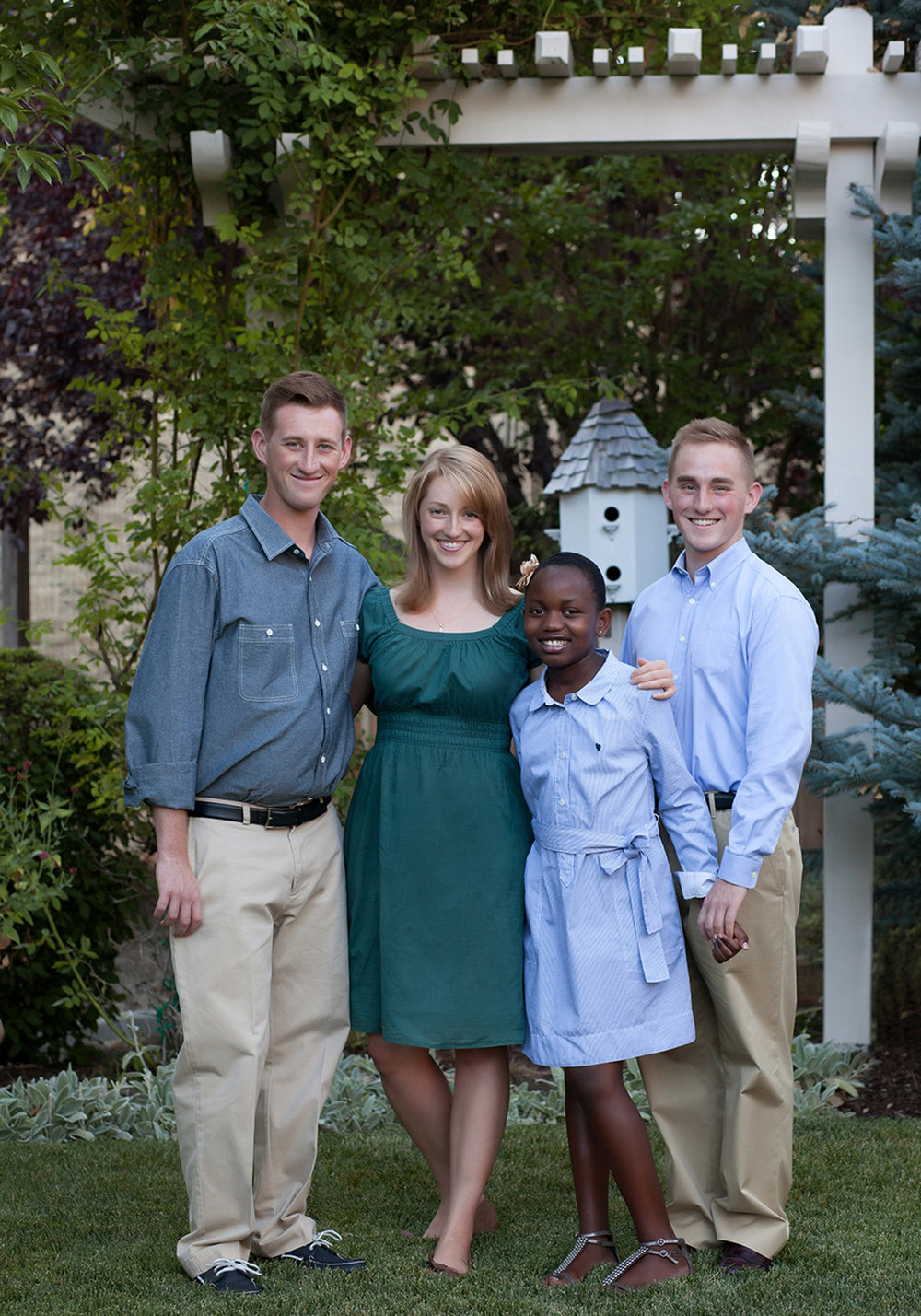 Copy of Copy of family portrait session at home in danville backyard siblings