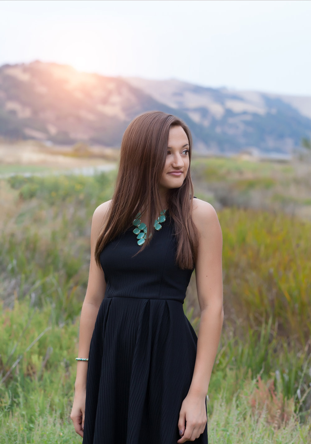 Copy of Copy of high school senior portrait session waterfront san ramon