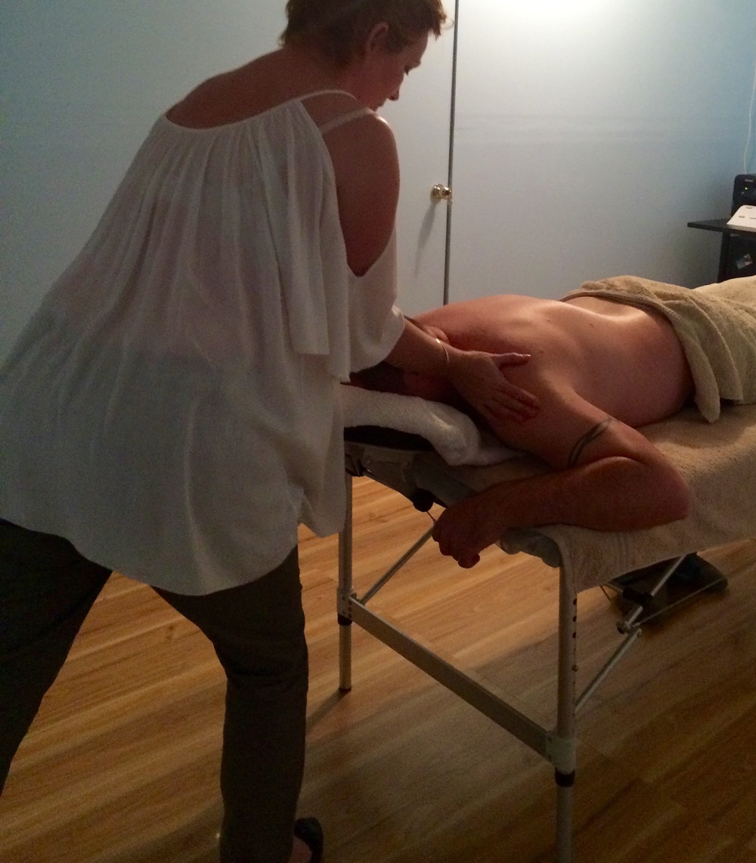 Neck and shoulders massage