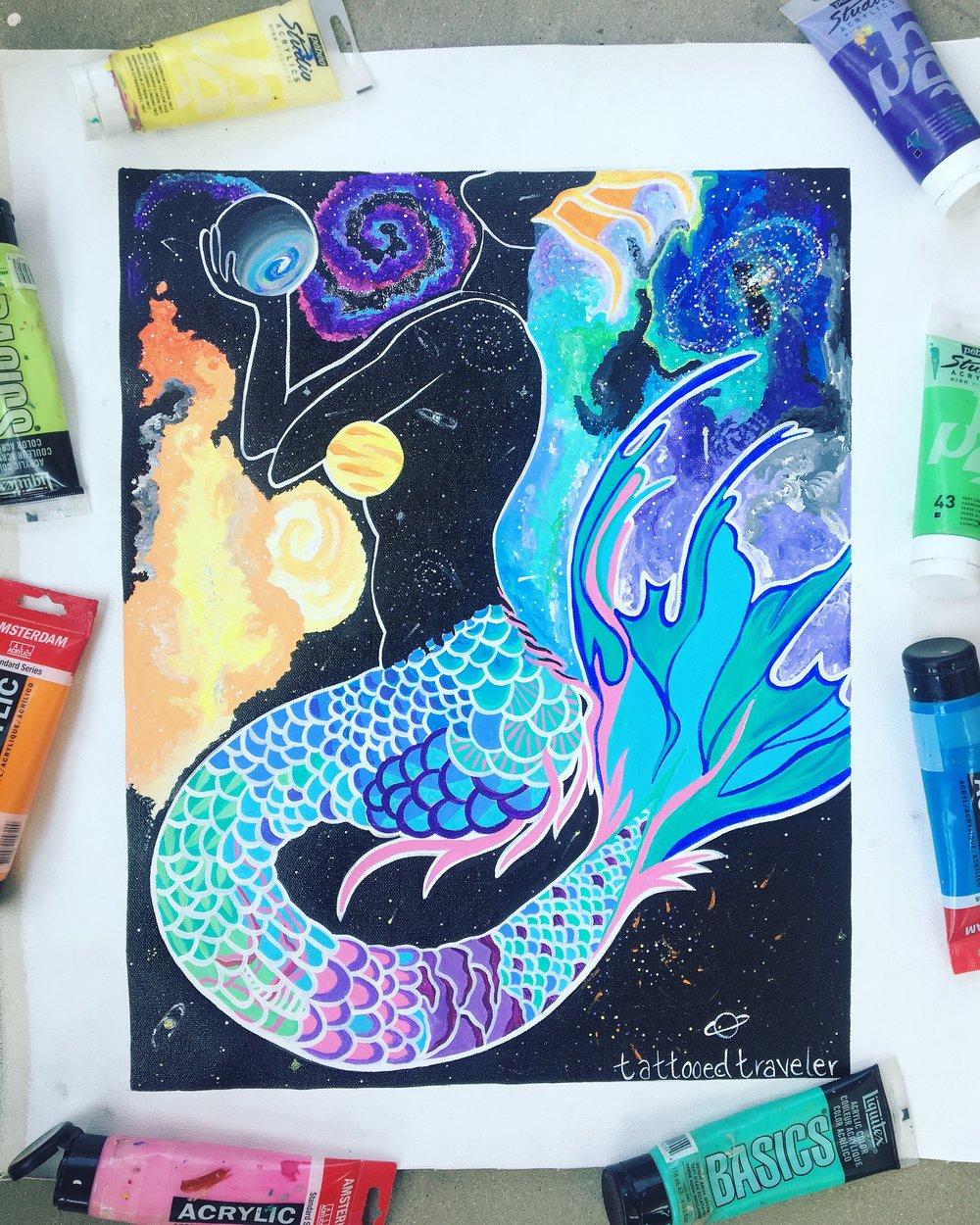 """""""Cosmic Mermaid"""" (Nepal)"""
