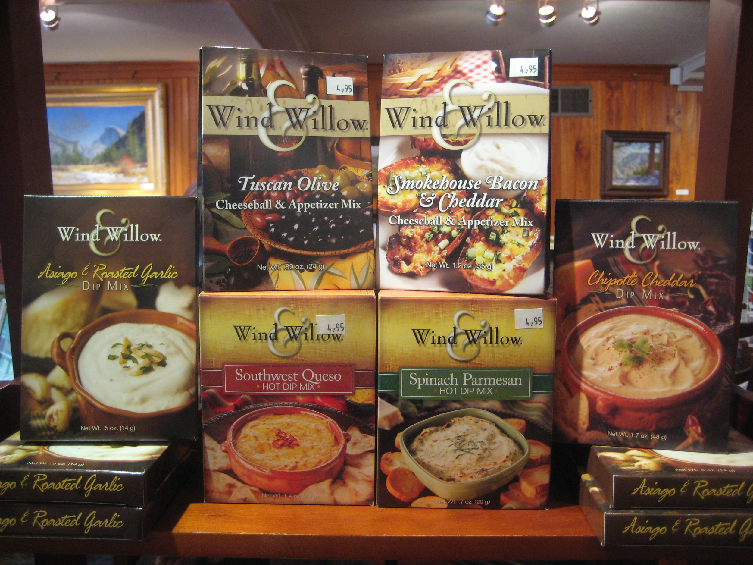 """Wind & Willow"" products available at The Lake House"