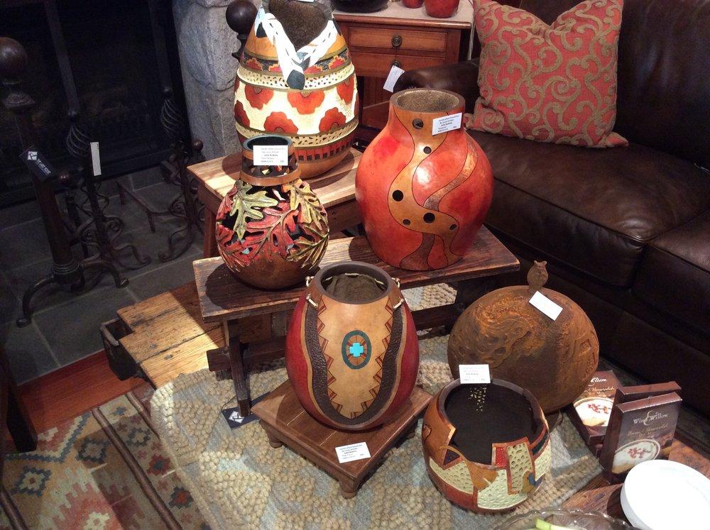 Julia Aubrey - Gourd Artist