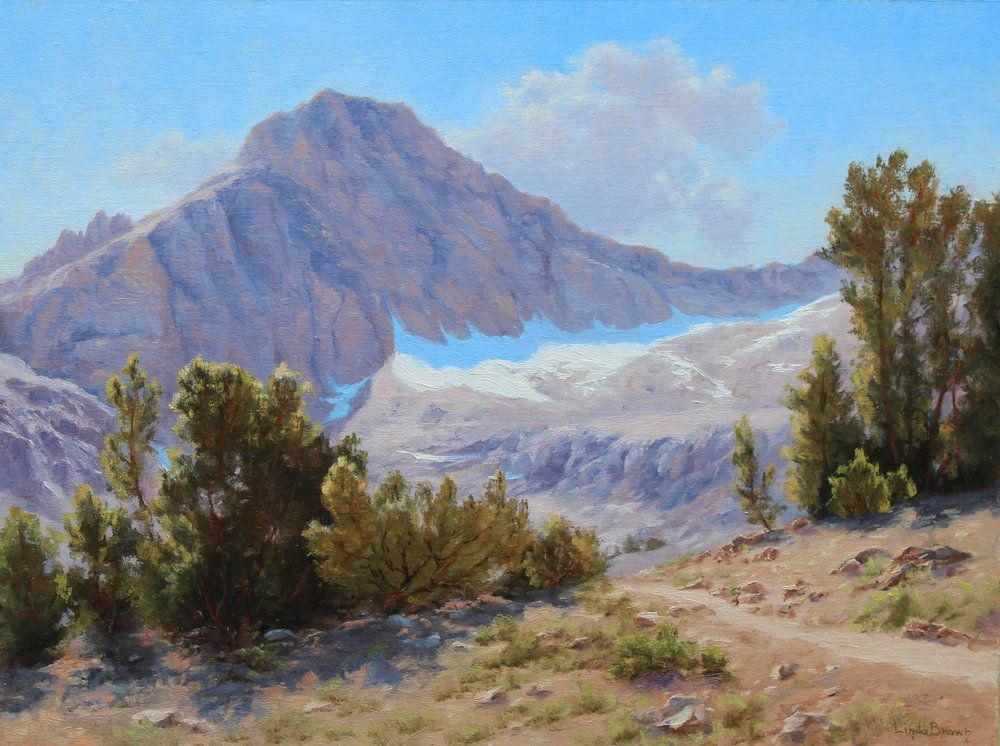 Into Thin Air, Painting by Linda Brown