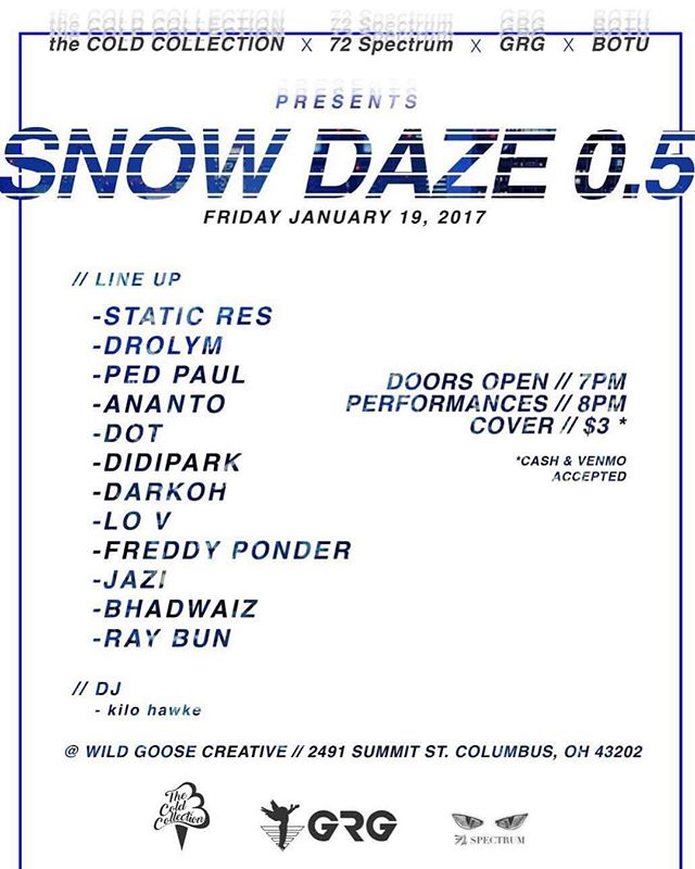 Pull up to @wildgoosecreative this Friday!