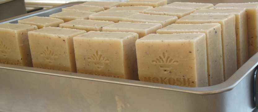 Our certified organic, hand made soaps are made using 100% plant oils.