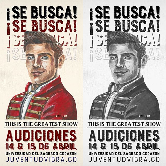 ¡SE BUSCA Cantante, Actor y Bailarín que represente el personaje de PHILLIP! #JV2018 #PuertoRico 🎤🕺🏼 INFO. 787-300-7658