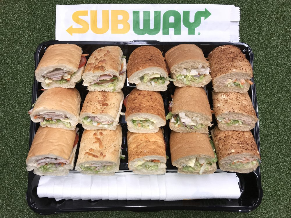 Subway Adult Platter