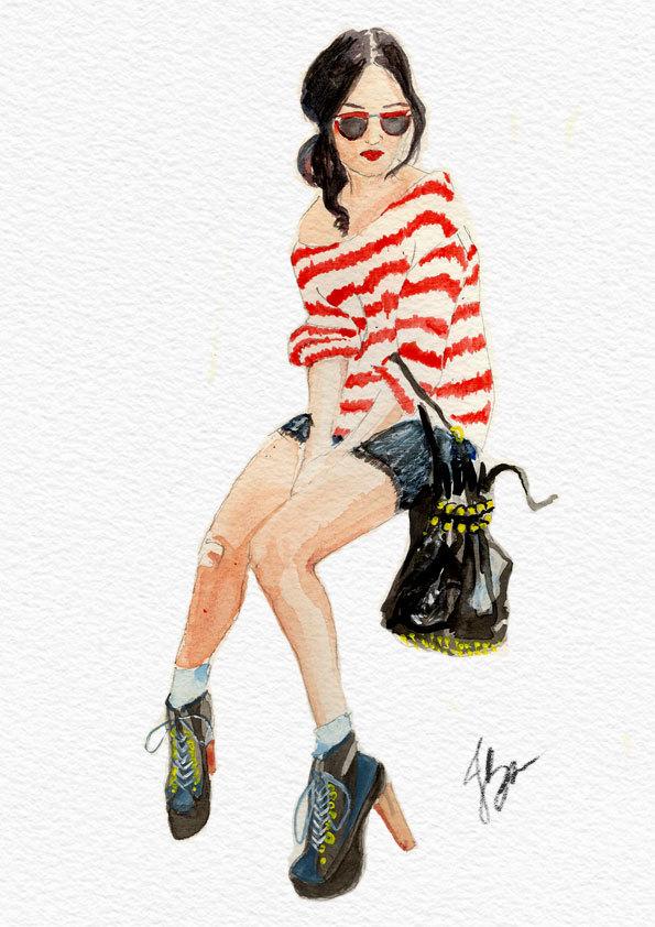 Nicole Warne - Gary Pepper Vintage