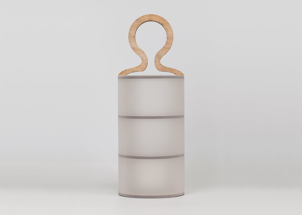 Kandella - For this project, I explored the harmony between 2D and 3D by constructing a lantern housing using
