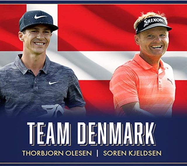 Next up is @worldcupofgolf starting Thursday in Melbourne, Australia. Really looking forward to partner @thorbjornolesen again in the tournament we won together two years ago 🏌️‍♂️🏌️‍♂️⛳️🇩🇰#golf #defendingourtitle🏆#denmark #pumagolf #srixongolf #ejnerhessel #mercedes #sorenkjeldsen #instagolf