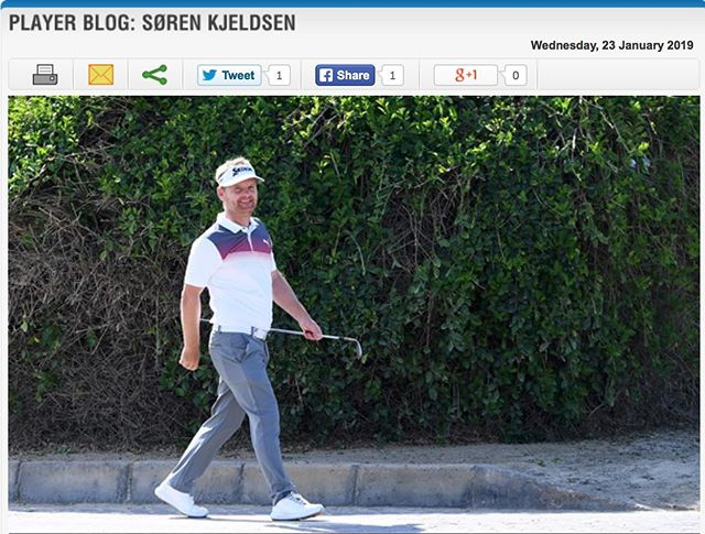I'm not a big hitter compared to the average European Tour golfer. But I still haven't played a hole that I can't birdie. Tune in on Europeantour.com to read my blog this week. #europeantour #golf #srixongolf #ejnerhessel #instagolf #omegadubaidesertclassic