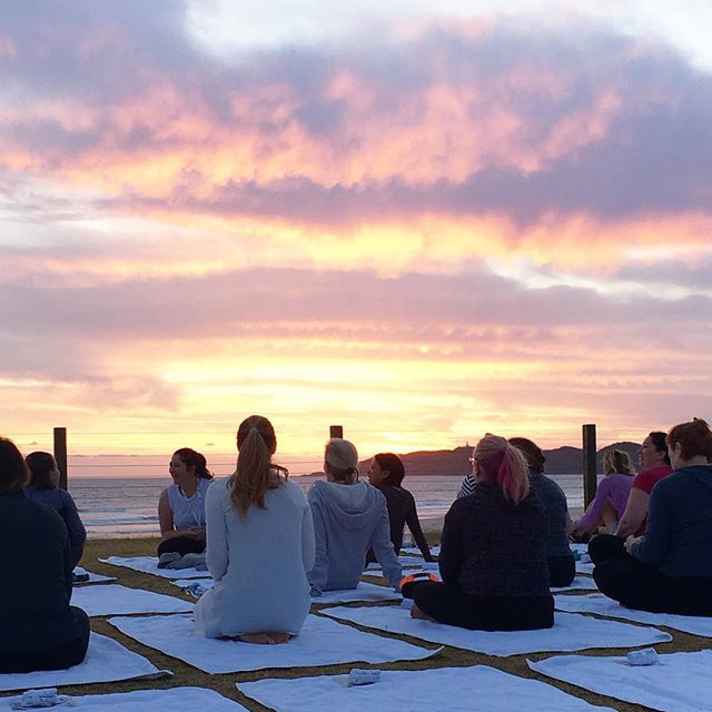 Sunrise in Byron. ☀️ #moversandbreakers #businesschicks