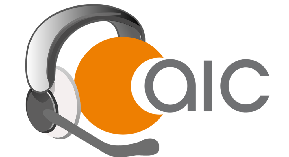 Logo AIC Flugzeug