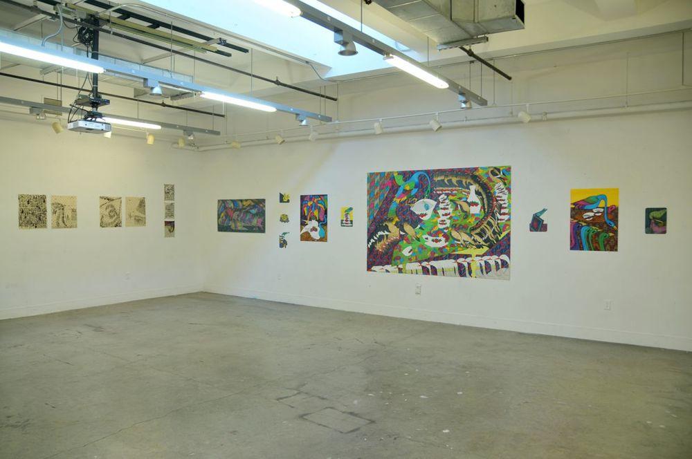 Installation view, Yale University School of Art, 2016