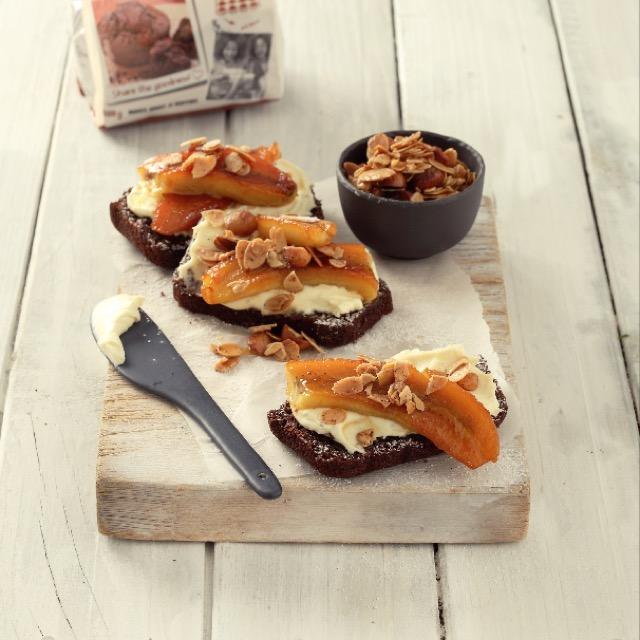 How tasty does this chocolate banana bread look? One of the SASKO Bake Mix recipes we developed.  Dessert or Breakfast?  #bananabread #saskochefskitchen #sasko #cookiebakemix #quicktreats #bananabread #chocolate #dessert #breakfast #treat #recipe #recipedevelopment #bread #homemade #food #foodstyling #foodphotography