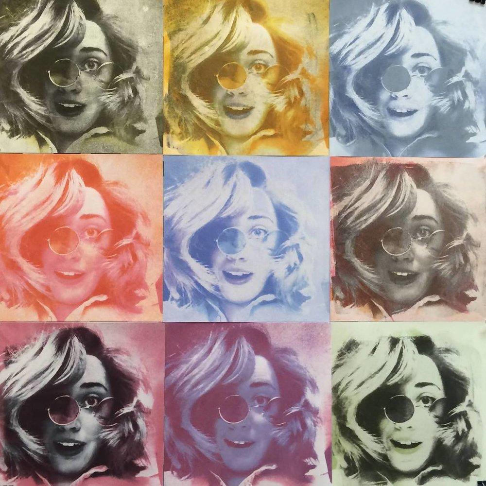 Gum bichromate Self-Portrait 2015