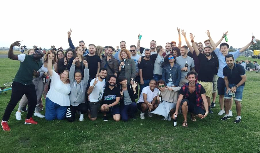 Team BBQ in Tempelhofer Feld!