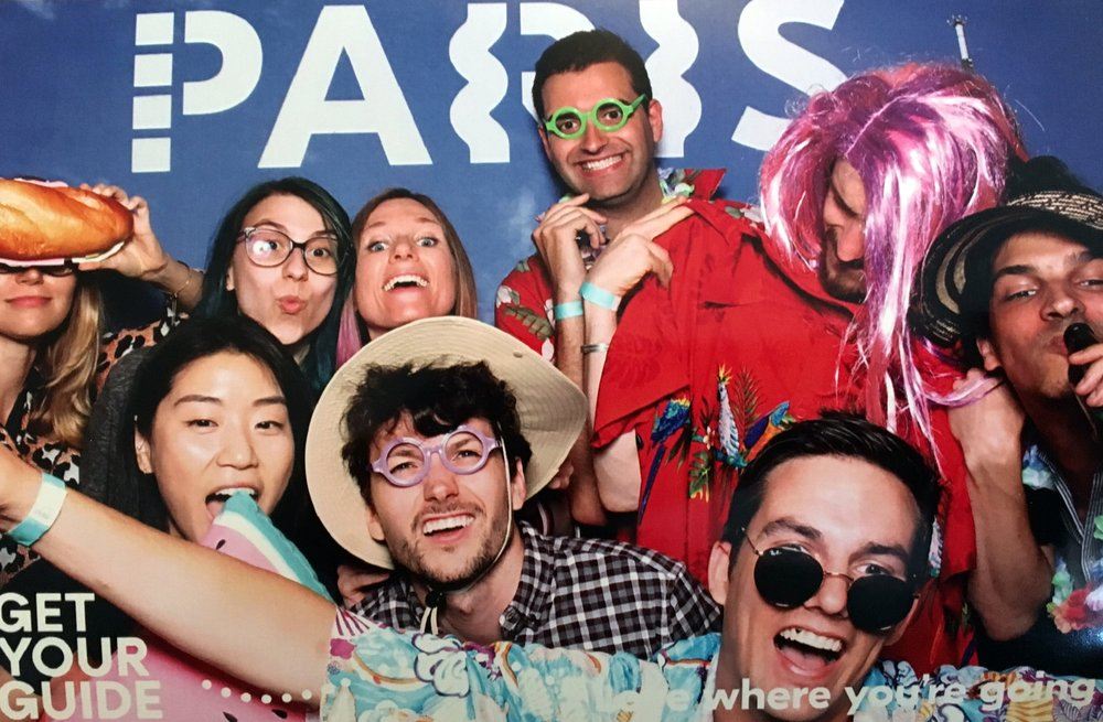 Photo booth fun at our Rebrand Launch Party 2018