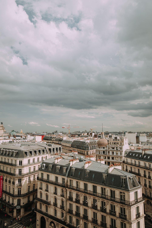 Views over Paris