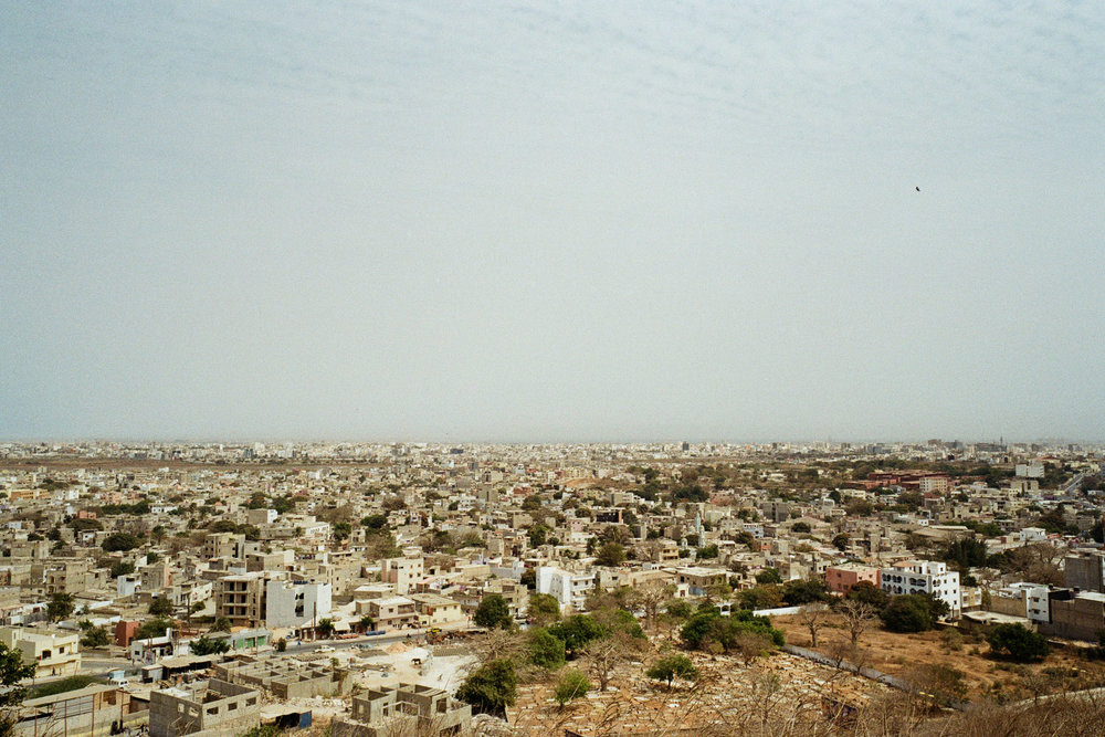 View to Dakar