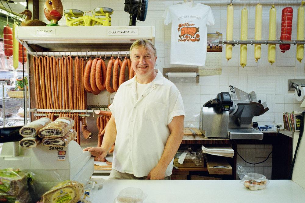 Mr Andrzej, East Village Meat Market