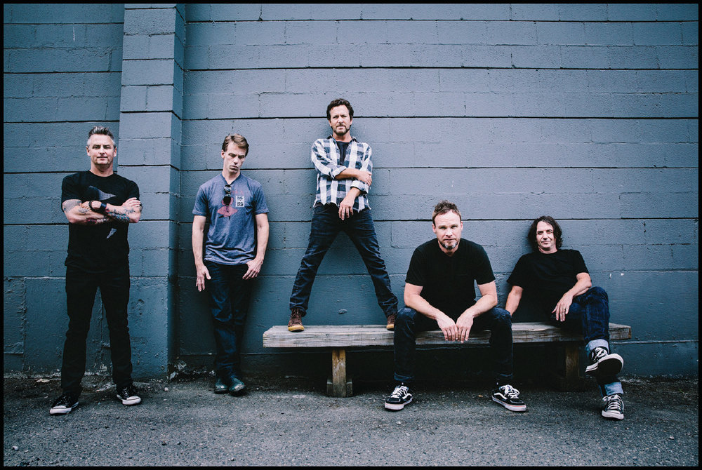 Pearl Jam 2013. Photo @ Danny Clinch / Universal Music Group.