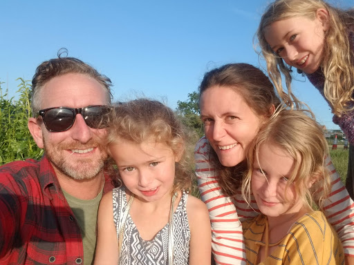 The Shaws - Me, Poppy, Josie, Daisy and Lily (L to R)