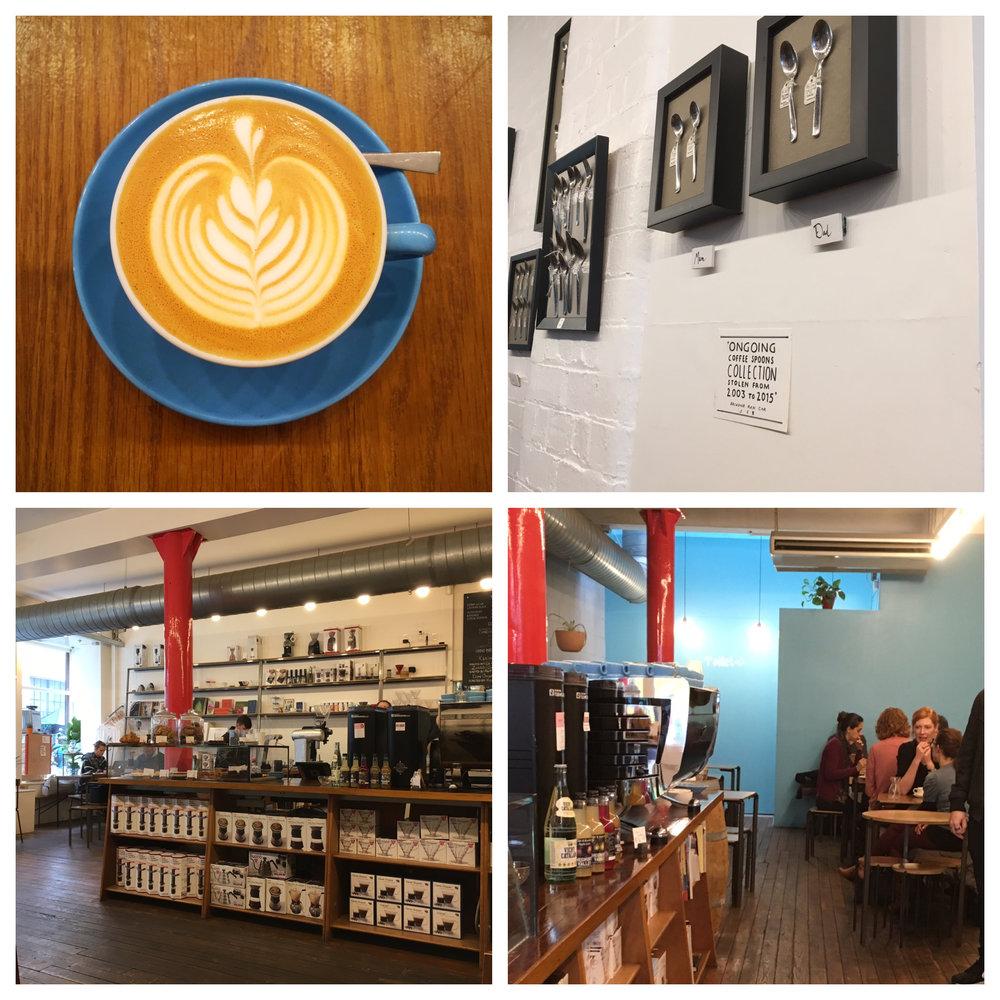 Prufrock Coffee Shop