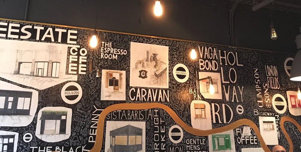 Artwork in The Espresso Room