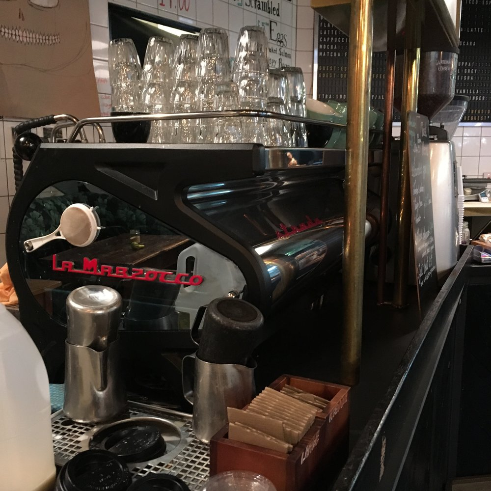 Machinery at The Espresso Room