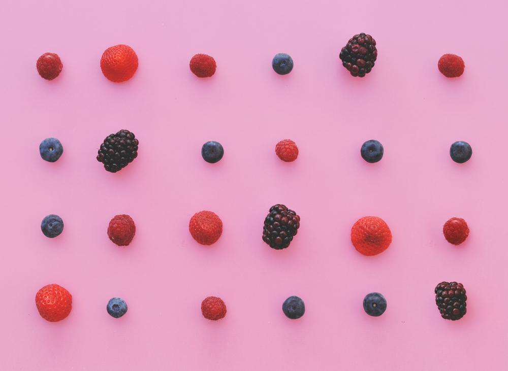 batido frutos rojos