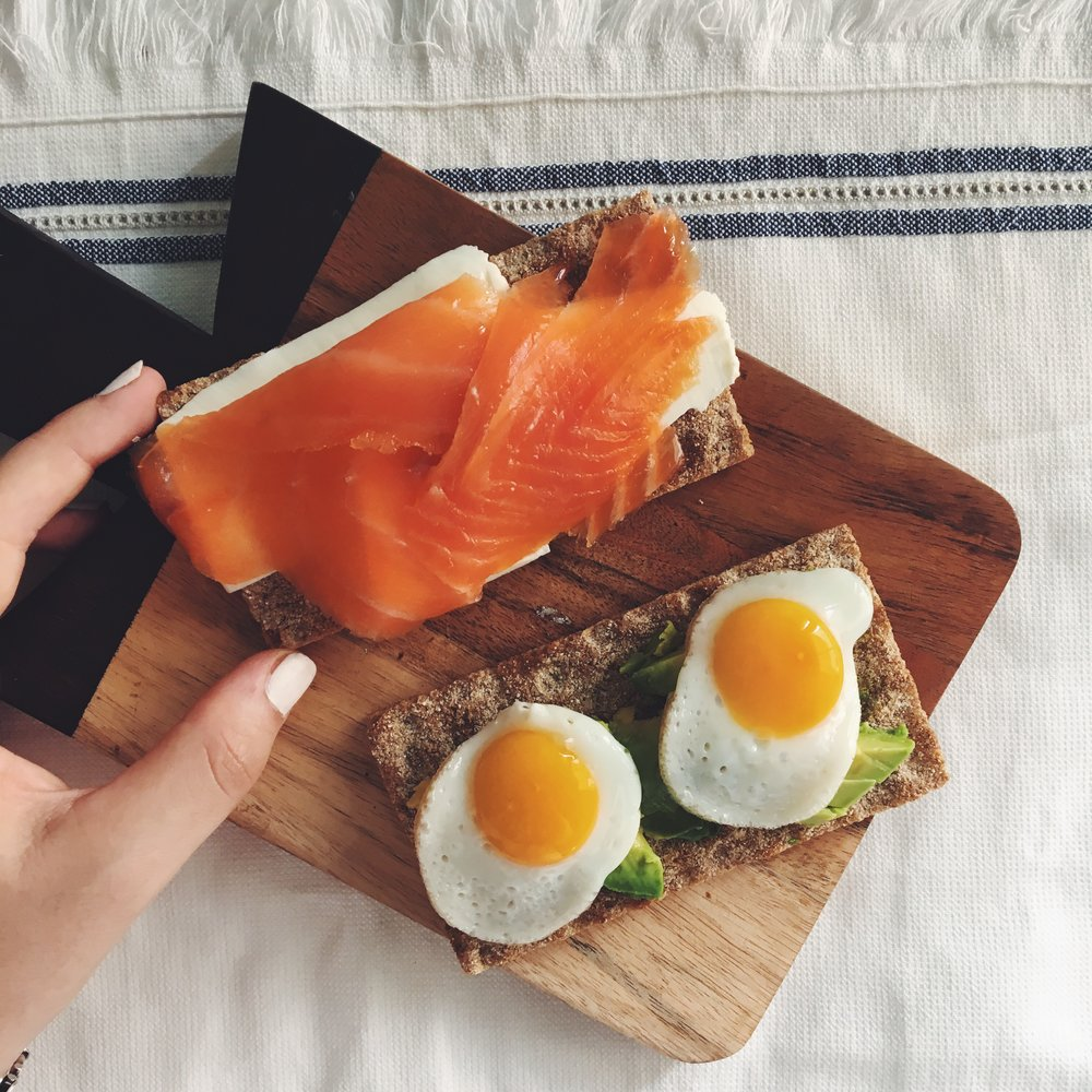 tostadas desayuno
