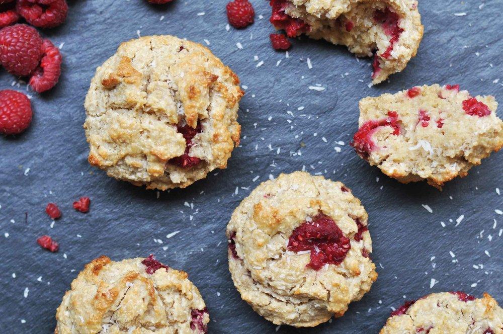 muffin frambuesa