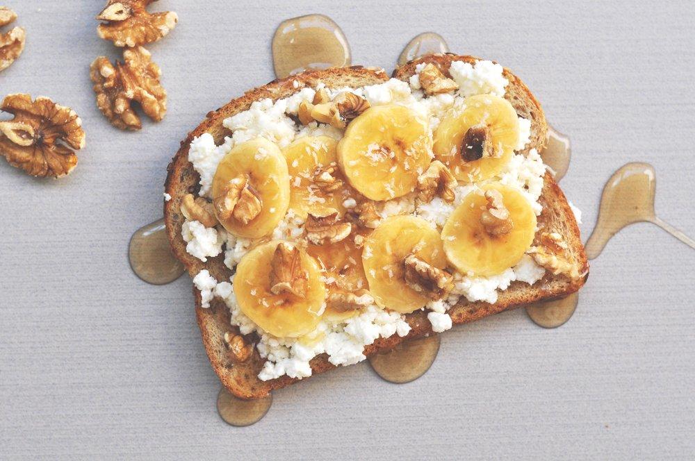 tosta desayuno saludable