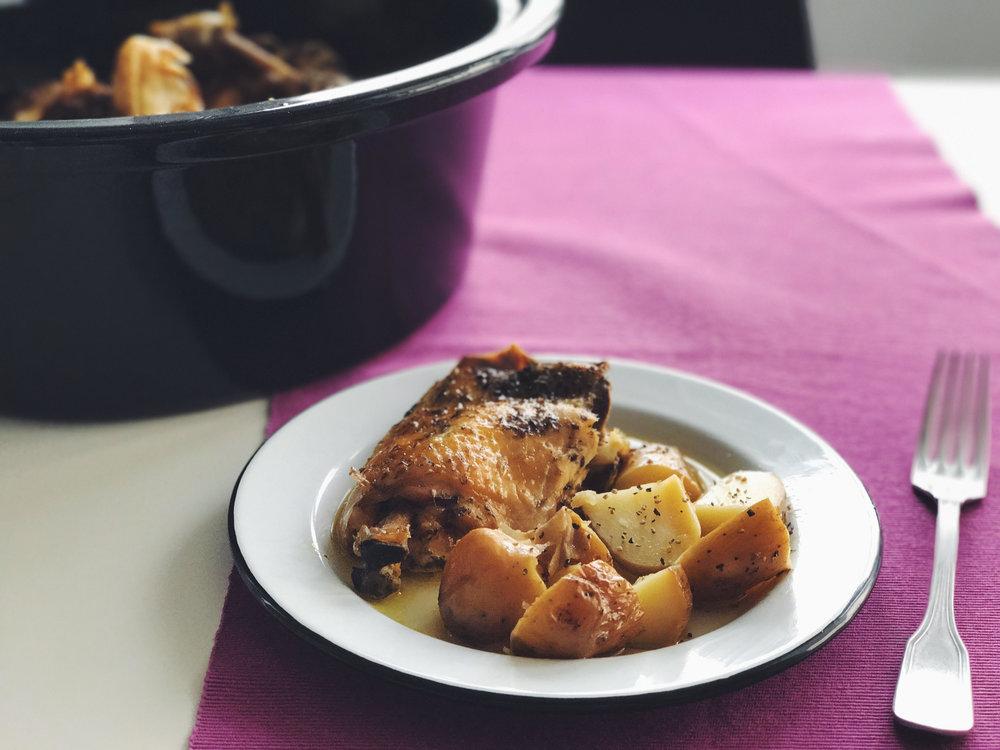 pollo crock pot como preparar pollo en olla lenta