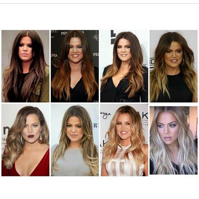 Khloe Kardashian... Patience is needed when going light!